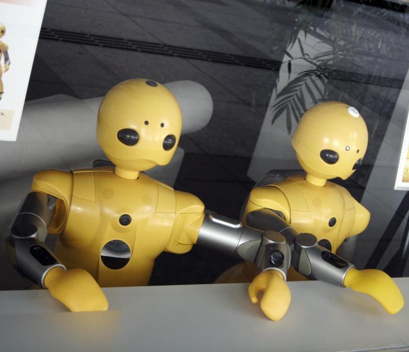 robots receptie