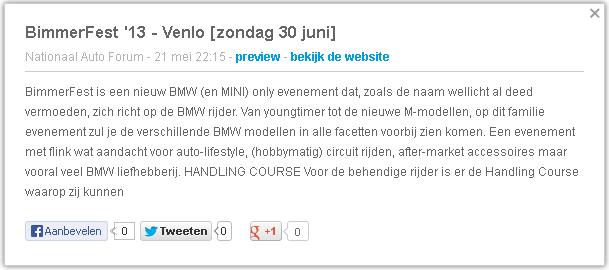Bimmerfest - BMW - positief sentiment - Finchline