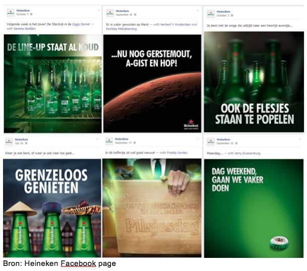 Heineken Facebook