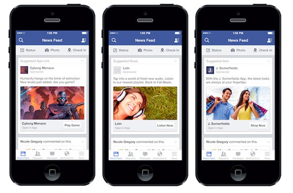 Mobile App Ads Facebook