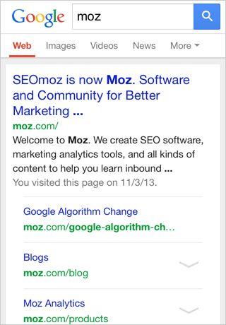 Google eerste positie