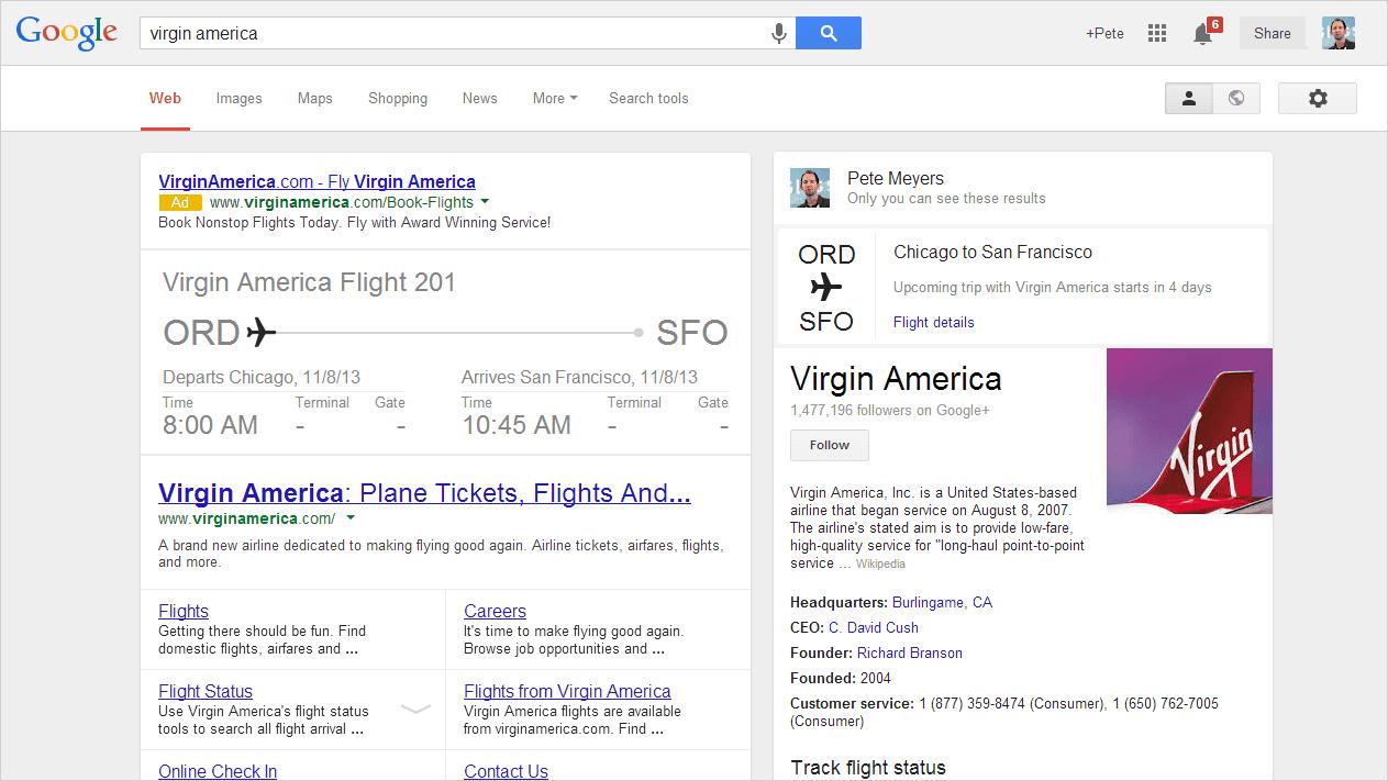 Mogelijke toekomst van Google