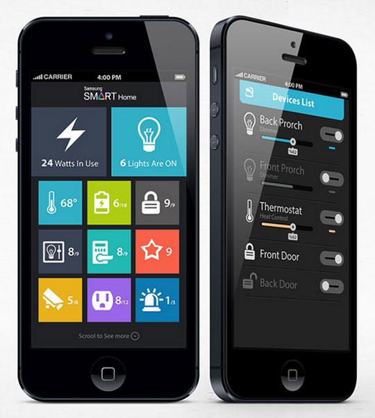 samsung smart home app