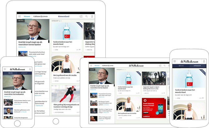 01_Volkskrant Apps redesign iOS Android door Soda Studio