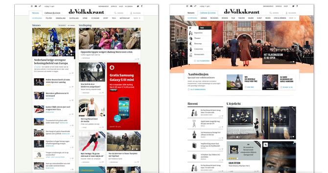 03_Volkskrant Nieuws vs Cultuur - Soda Studio