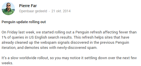 Google+post Pierre Far