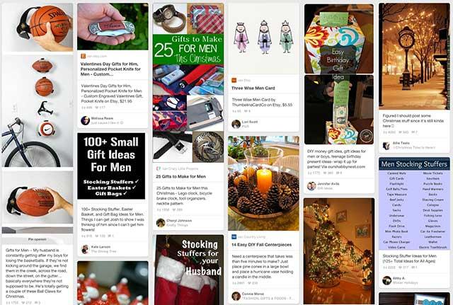 Pinterest kerstmis - nieuwe etalage