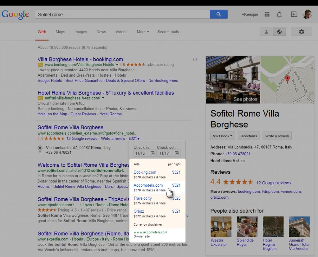 google-hotels-maps-met-boeken-eigen-hotelsite
