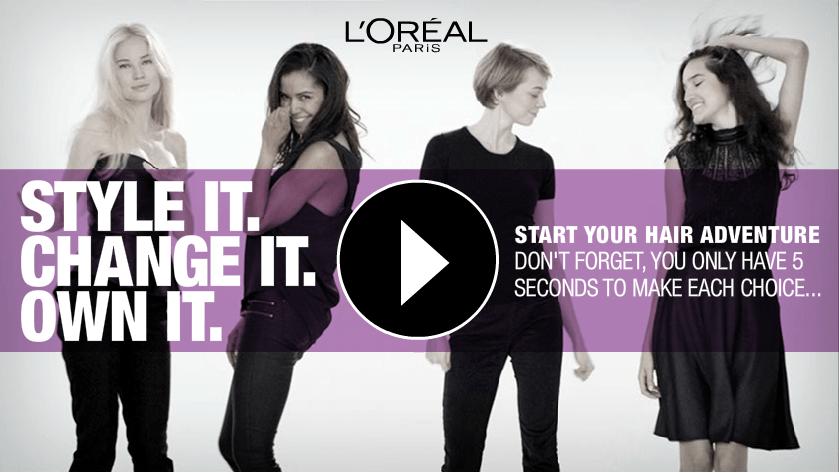 L'Oréal bestellen vanuit video.