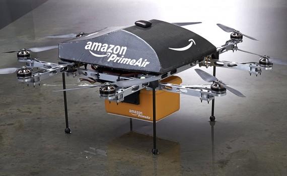 Amazon mag bezorgdrones testen