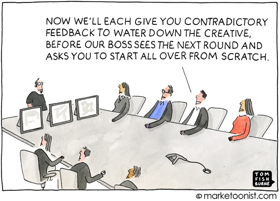 Marketoonist creative review