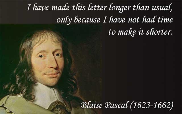 Blaise Pascal citaat