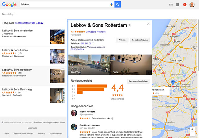 Lebkov local search
