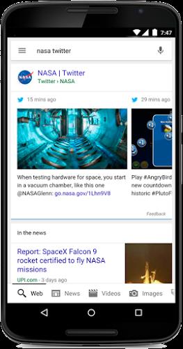 NASA Twitter