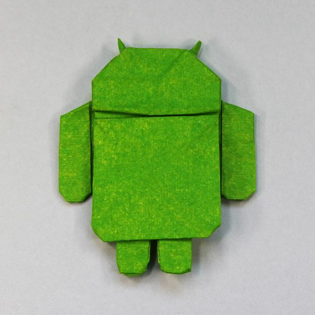 Voorgesteld Beeldmateriaal #2 (Origami Android)