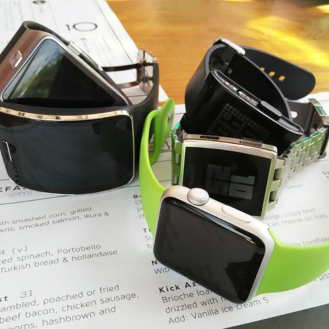 Appvragen smartwatches - Vernon Chan