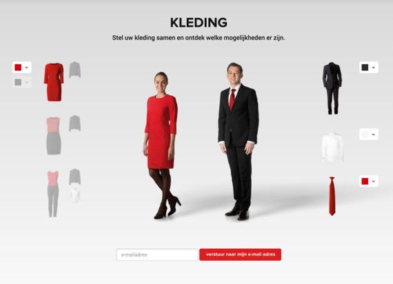 kleding samenstellen online