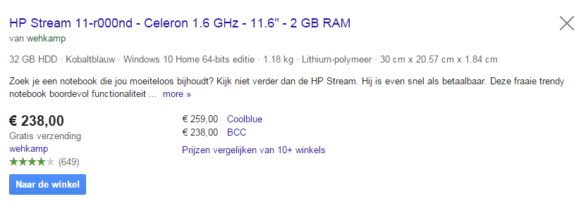 Google-Shopping-Feed-optimalisatie