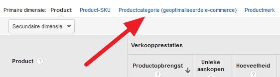 Productcategore-EnhancedEcommerce