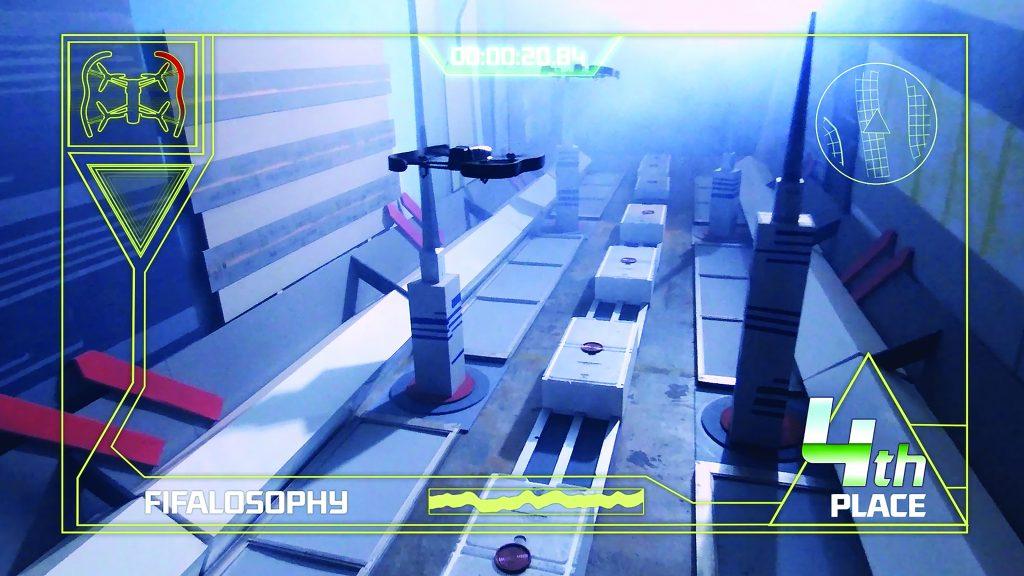 4- drone race