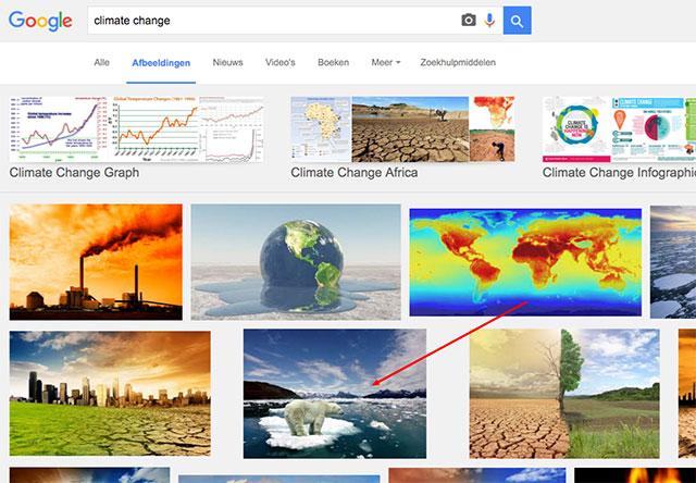 afbeeldingen zoeken klimaatveranderiong