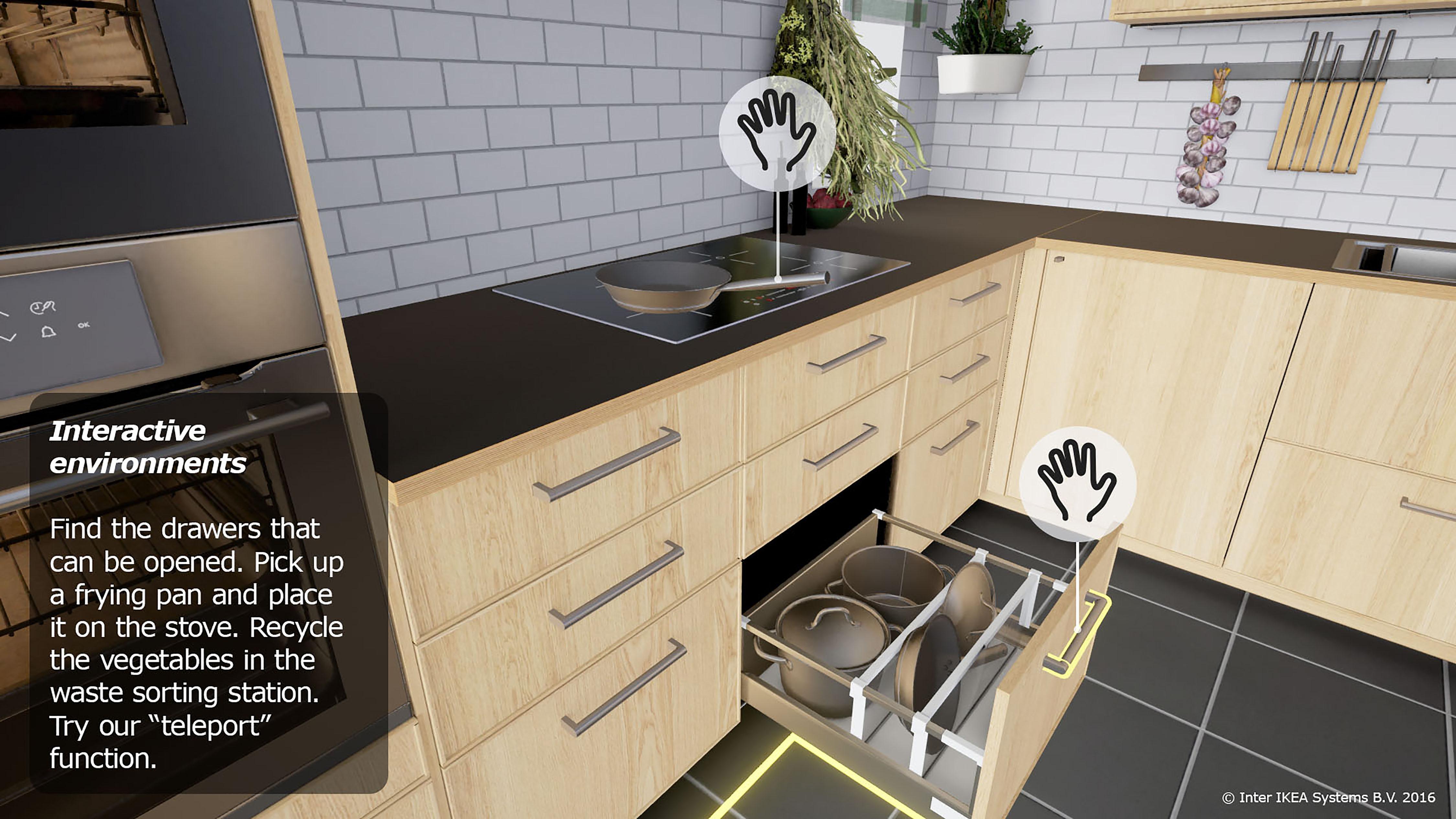 Virtual Reality Keuken : Ikea start proef met vr keuken emerce