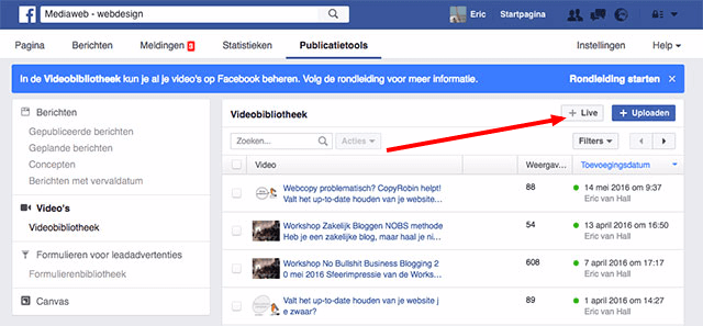 facebook-live-stream-pages