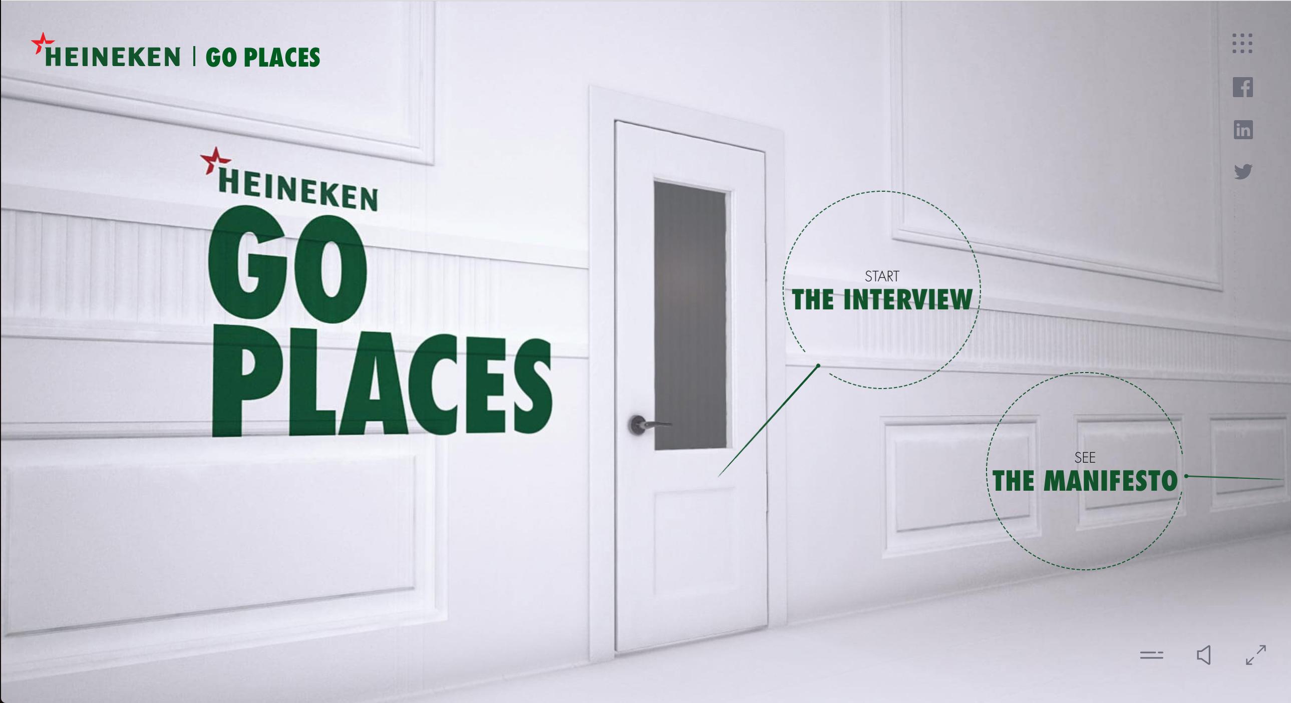 sollicitatie heineken Go Places campagne: shinen bij Heineken   Emerce sollicitatie heineken