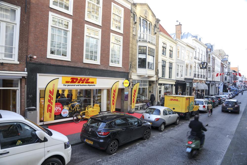 Dhl opent winkel in centrum den haag emerce for Reiswinkel den haag