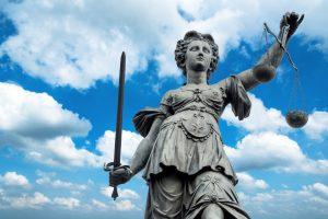 Vrouwe Justitia Frankfurt