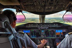 Piloten cockpit