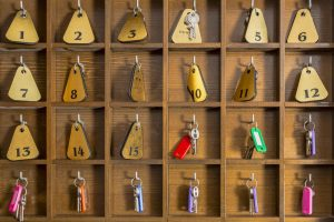 sleutels hotel