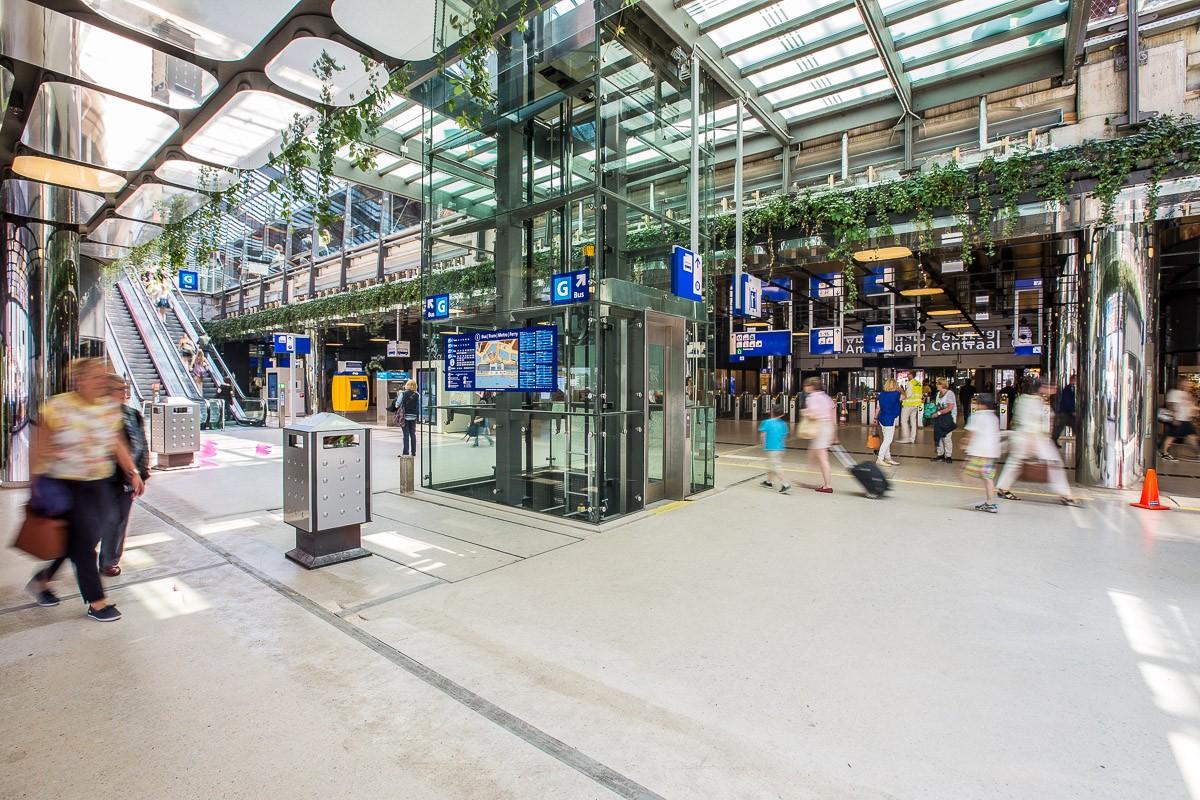 Utrecht Centraal Druk
