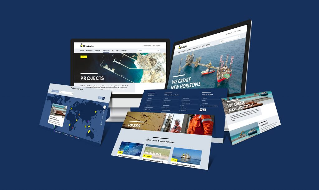 mock-up site Boskalis