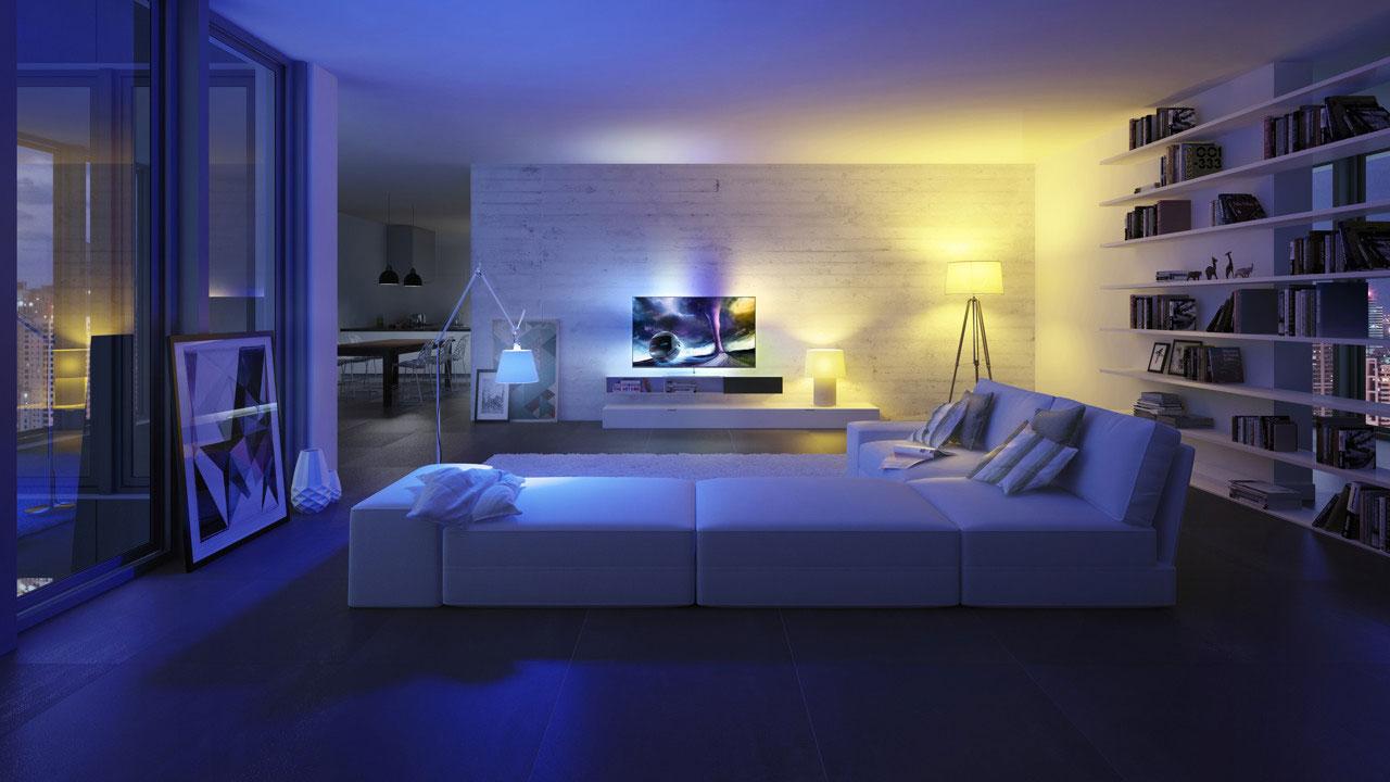 ehome deco licht is essentieel voor de smart home video emerce. Black Bedroom Furniture Sets. Home Design Ideas