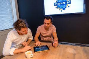 Oprichters Mike Hutten en Marvin Oude Avenhuis - Op Reis Met Bo