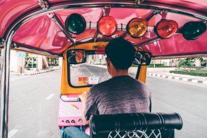 tuktukchauffeur in Thailand