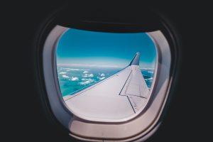 vliegtuigraampje