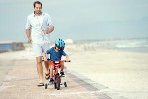 leren fietsen met zijwieltjes