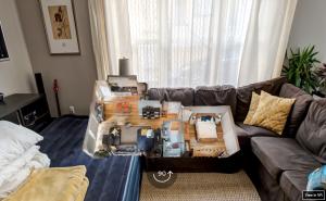 360 graden beeld bij Airbnb-accommodatie