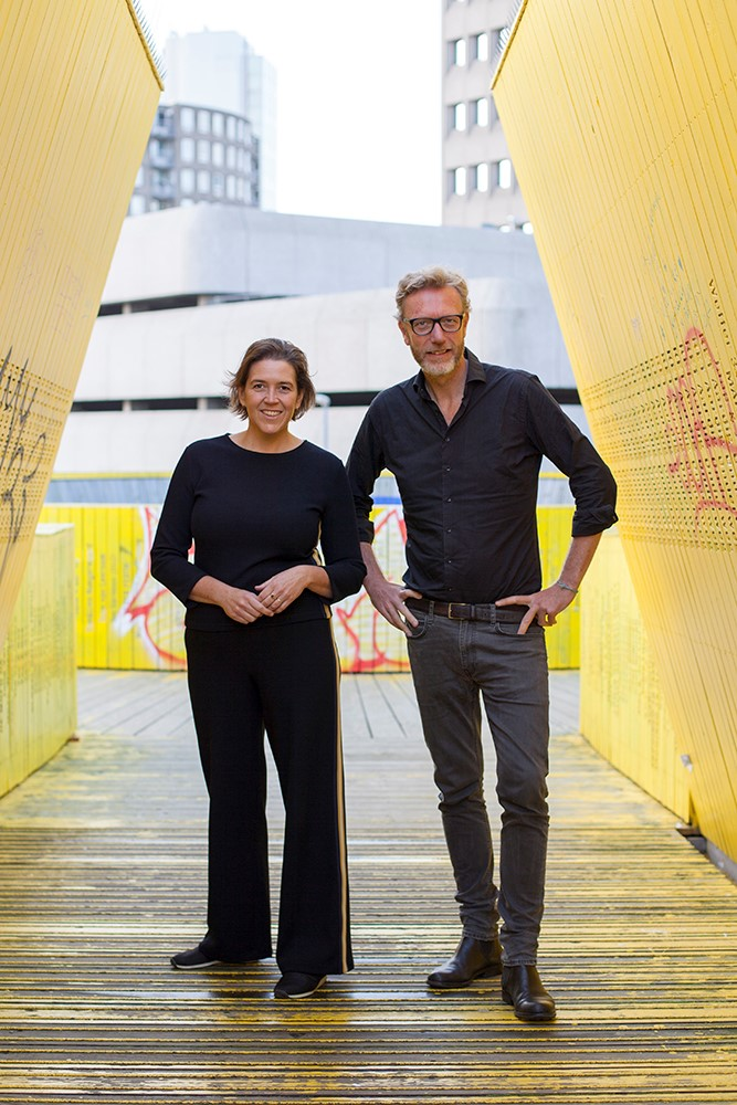 Joyce Enthoven en Rene Bego, Mo'Media