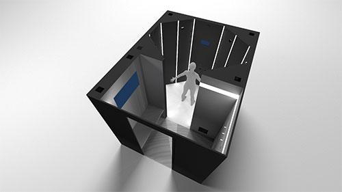 04950200b75 Het is zeker niet de eerste 3D-scanner voor het virtueel passen van kleding,  maar de Brusselse startup Treedy's denkt het toch weer iets beter te kunnen  ...