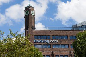 Kantoor van Booking in Amsterdam