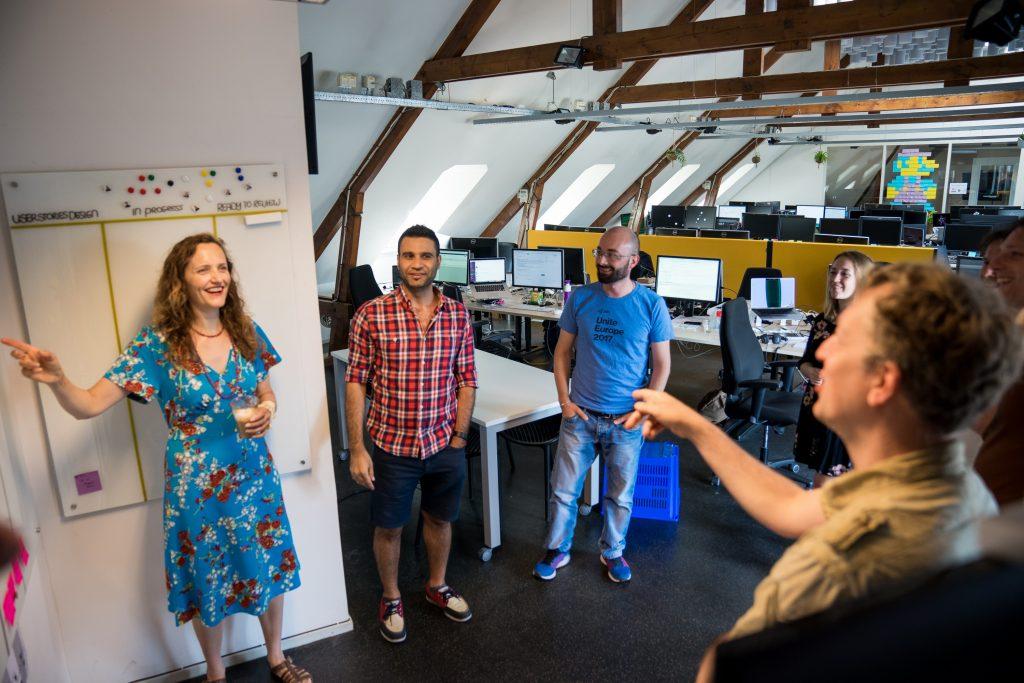 scrum team van info.nl