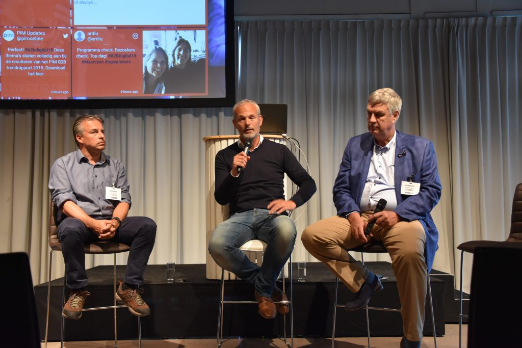 Panel tijdens B2B Digital