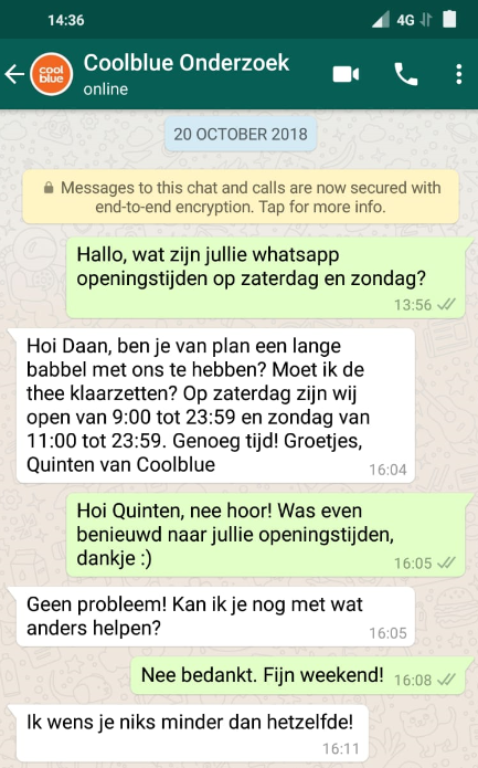 het aansluiten van whatsapp nummers We zijn net begonnen dating gedichten