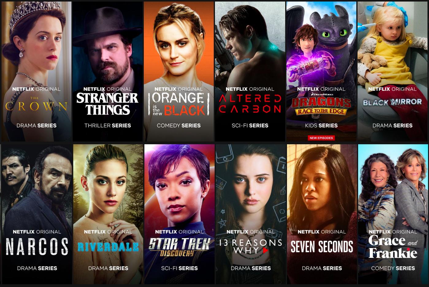 Filmy Netflix