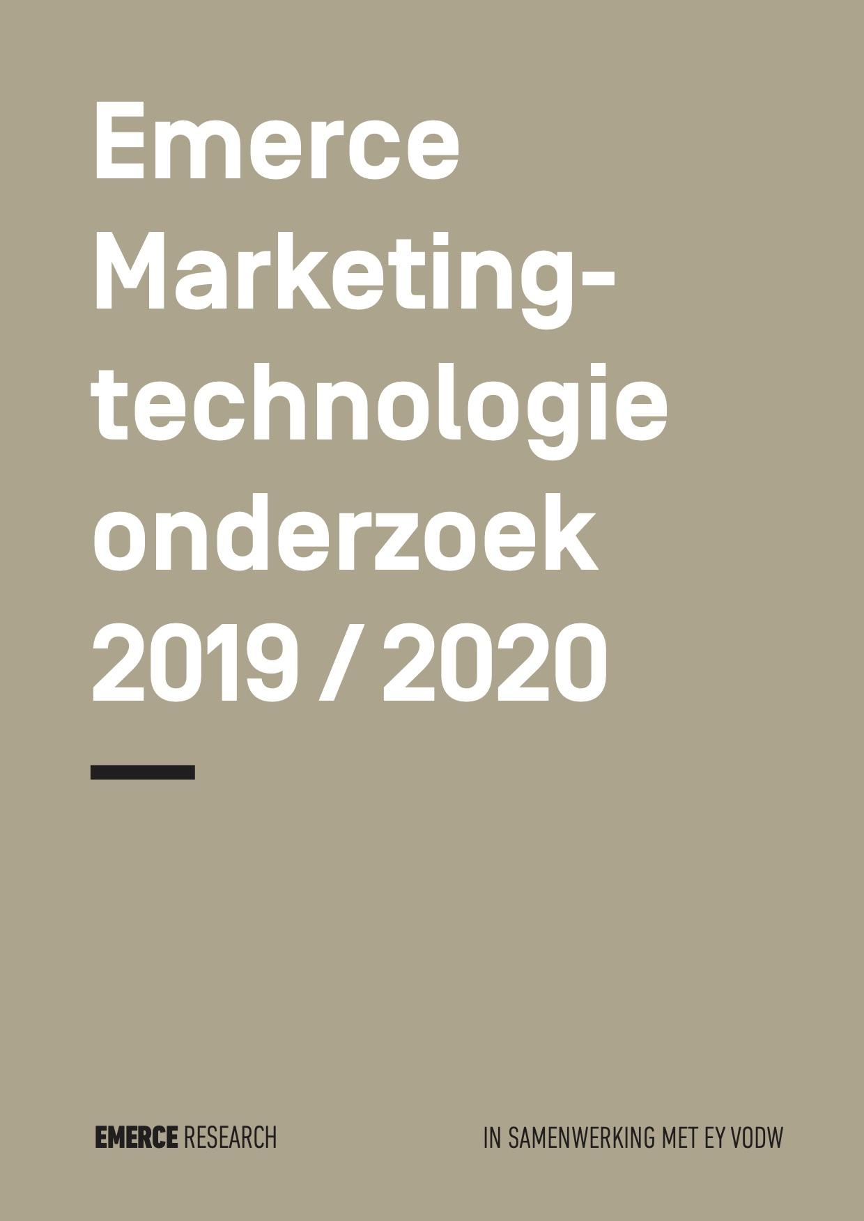Het Emerce Martech-onderzoek 2019/2020: Stijgende Marketingtechnologie budgetten. Aan welke tools worden die uitgegeven?