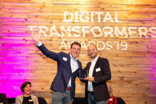 Paskal van Lomm wint Digital Transformers Awards 2019 met medisch platform Duxxie - Emerce