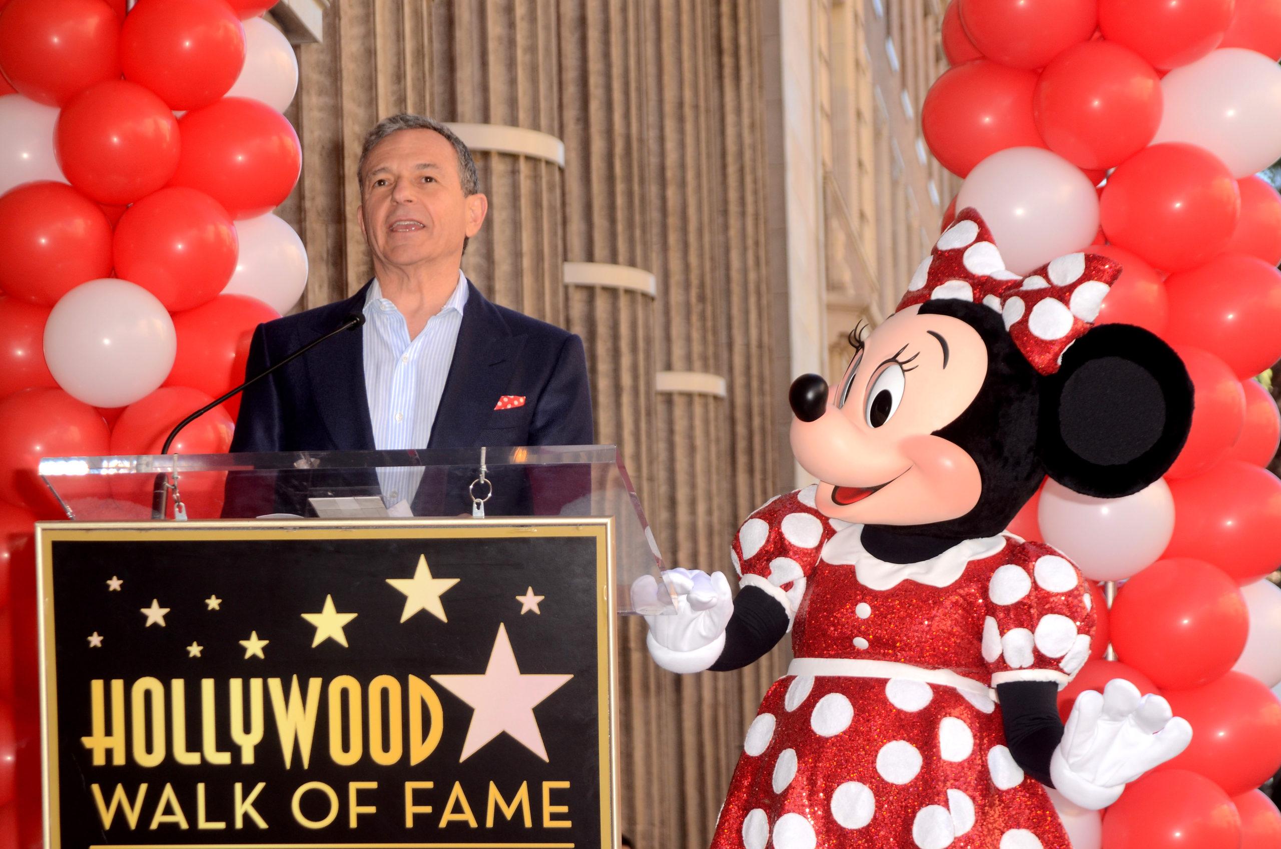 Topman Bob Iger weg als CEO Disney